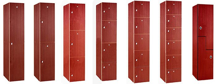 All Wood Country Club Lockers
