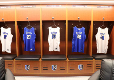 Bentley Basketball Wood Lockers